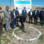 آیین کلنگ زنی احداث سه پارک محله ای در دهدشت برگزار شد