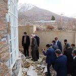 بازدیدمدیرکل آموزش وپرورش کهگیلویه وبویراحمدبه همراه مدیران وروسای شهرستانها از مناطق زلزله زده دنا