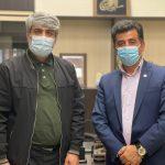 دستیار وزیر ارتباطات با مدیر فرودگاه یاسوج دیدار کرد /+جزئیات